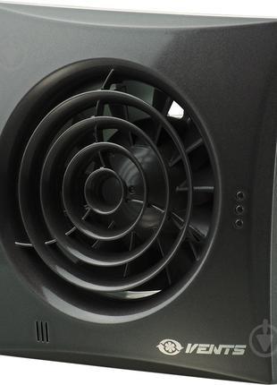 Вытяжной вентилятор Вентс Квайт 100 черный