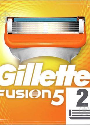 Сменный картридж Gillette Fusion 5 2 шт.