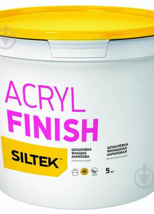Шпаклевка Siltek Acryl Finish 5 кг