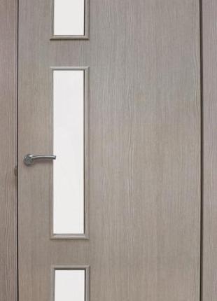 Дверное полотно ОМиС Соло ПО 800 мм сосна мадейра