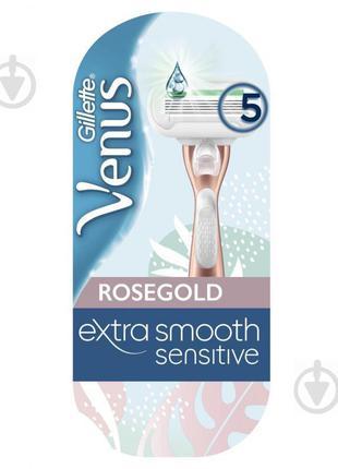 Бритва Gillette Venus Smooth RoseGold с 1 сменной кассетой