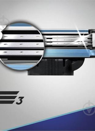 Сменный картридж Gillette Mach 3 4 шт.