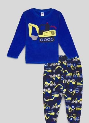 Детская флисовая пижама на мальчика c&a