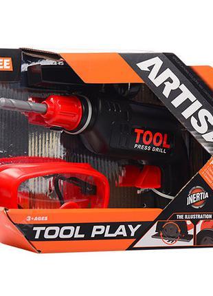 Детский игровой набор инструментов для мальчиков Cayee (дрель,...