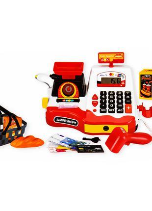Детский игровой набор Кассовый аппарат с весами, продуктами и ...