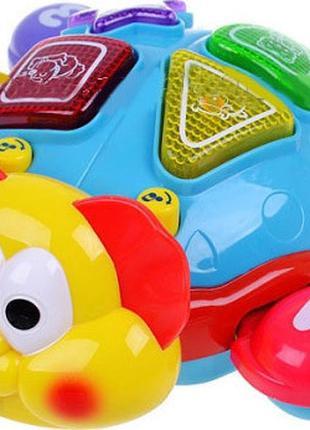 Детская развивающая музыкальная игрушка Metr+ танцующий жук