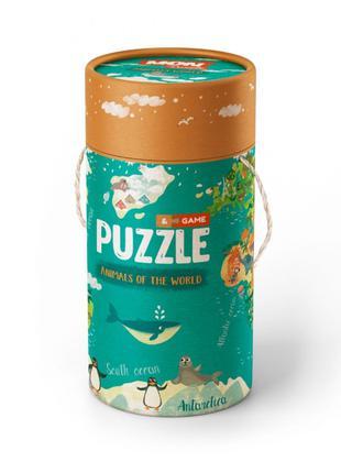 """Развивающая Игрушка для Детей Пазл и игра Mon Puzzle """"Животные..."""