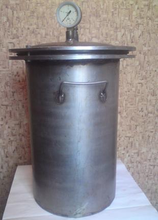 Автоклав – дистиллятор, нержавейка (консервы, тушонка, дистиллят)