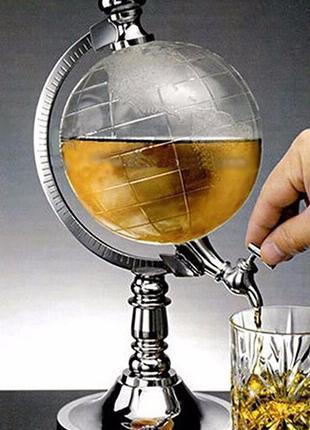 Резервуар для алкоголя 1,5л, Диспенсер, емкость для виски, кон...