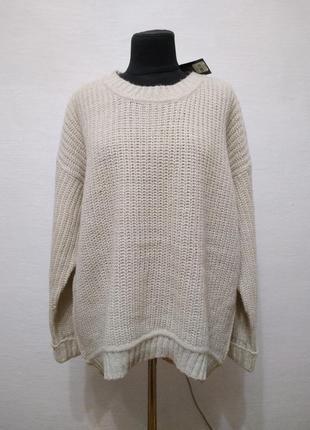 """Стильный модный свитер """" мокко """" большого размера"""