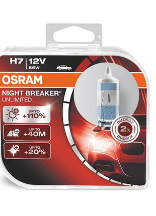 Автомобильная галогенная лампа NIGHT BREAKER UNLIMITED 64210NB...