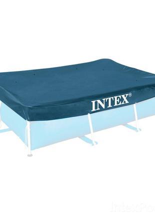 Тент-накидка для каркасного бассейна Intex, 300х200см
