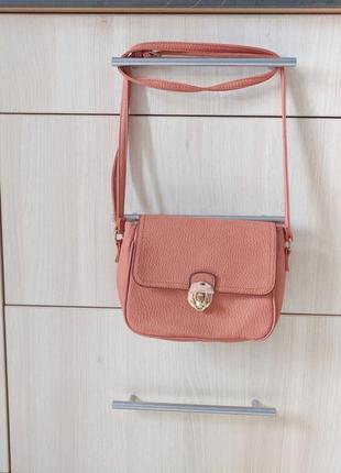 Красивая маленькая сумка сумочка кроссбоди на длинной ручке