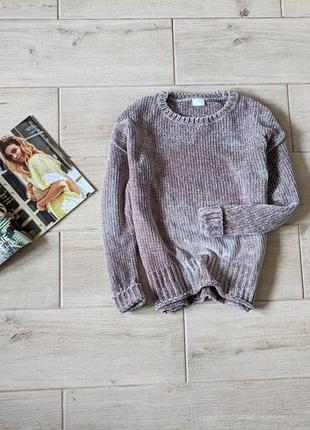 Мягкий плюшевый свитер s