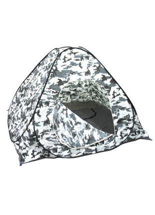 Зимняя палатка 2х2 метра самораскрывающаяся, удобная и практичная