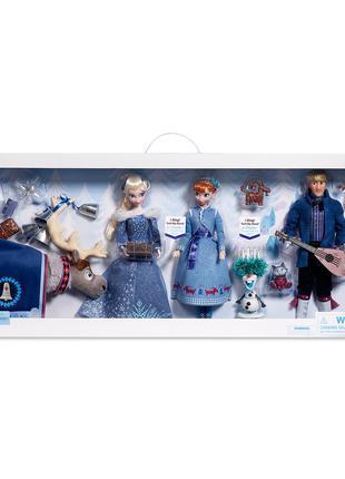 Набор кукол Холодное Сердце 2 поющие Эльза, Анна и Кристофф