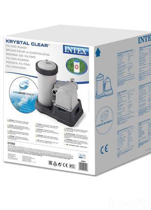 Картриджный фильтр насос Intex 9 463 л/ч, тип B