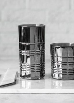 Набор стаканов высоких Luminarc Даллас Сияющий Графит 9317P (3...