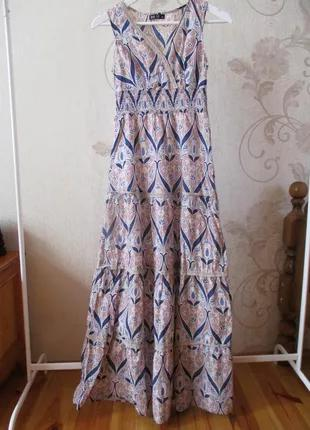 Платье-сарафан длинное красивое