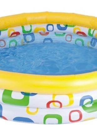 Детский бассейн в дом Intex