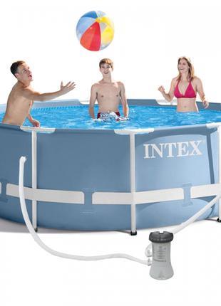 Каркасный бассейн 305*100см + фильтр-насос,, 6500 литров ХИТ