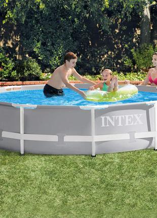 Каркасный бассейн 305*76см + фильтр-насос, катридж, 6503 литро...