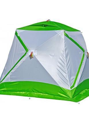 Зимняя зеленая палатка ЛОТОС Куб 3 Компакт