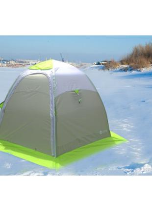Зимняя зеленая палатка Лотос «LOTOS 3» Универсал