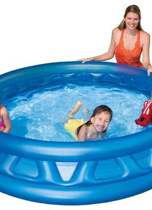 """Детский игровой бассейн Intex """"Летающая тарелка"""" 188х46см"""