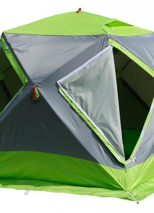 Зимняя зеленая палатка Лотос Куб М2 Термо