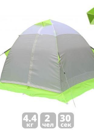 Зимняя зеленая палатка Лотос «LOTOS 2»