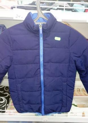 Осенняя двусторонняя куртка