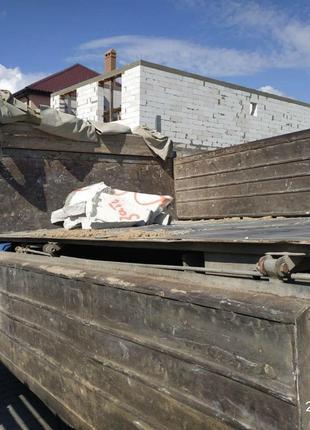 Доставка стройматериалов, вывоз мусора, ЗИЛ 130