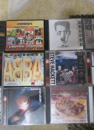 Pink Floyd, ABBA, BONEYM, Steve Hacket на компакт дисках! Сумы!
