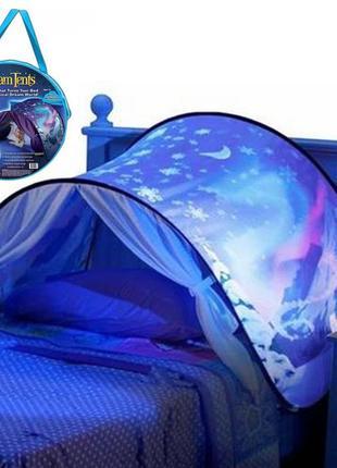 Детская палатка Dream Tents / Детский тент для сна Голубой