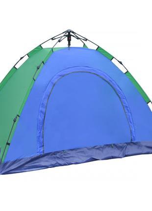 Палатка автоматическая 4 местная 210х210х140 см / Палатка тури...