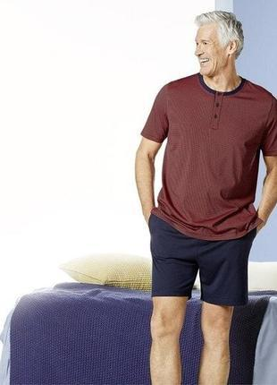 Летний комплект мужская пижама домашний костюм, модал, livergy...
