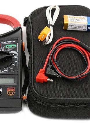 Токоизмерительные клещи (мультиметр) DT-266FT, токовые клещи