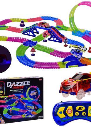 Детский трек для машинок на пульте управления DAZZLE TRACKS 18...