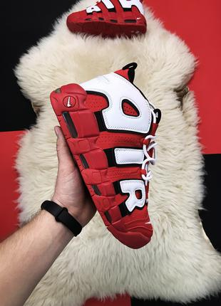 Nike Air More Uptempo Red Blood