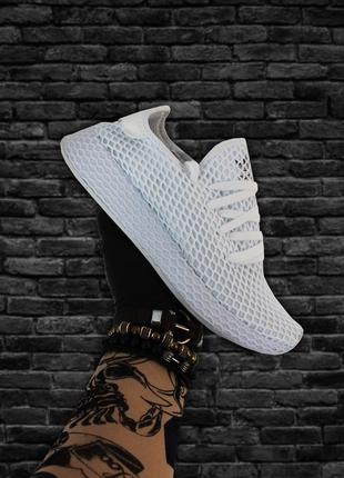 Adidas Deerupt Runner White (Белый)