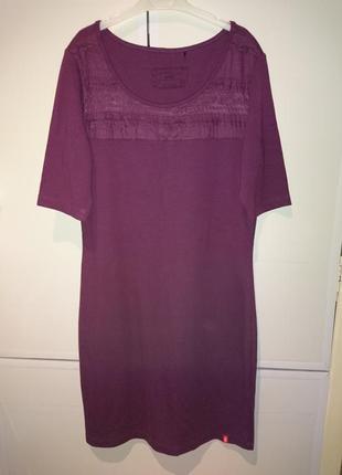 Красивое фирменое платье винного цвета