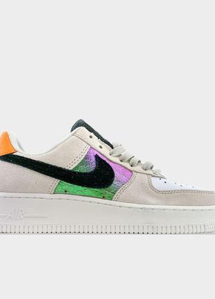 Nike Air Force 1 Low Beige Suede (Бежевый)