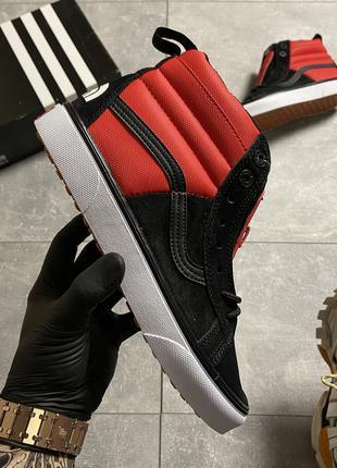 Vans SK8 Red/Black x The North Face (Красный Черный)