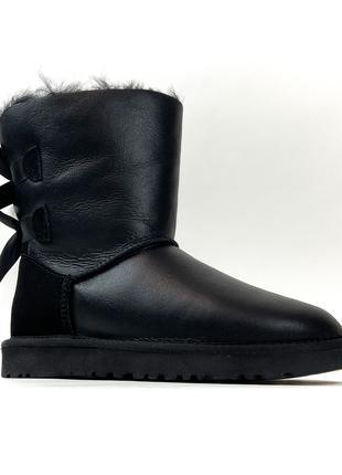 UGG Bailey Bow Black (Черный)