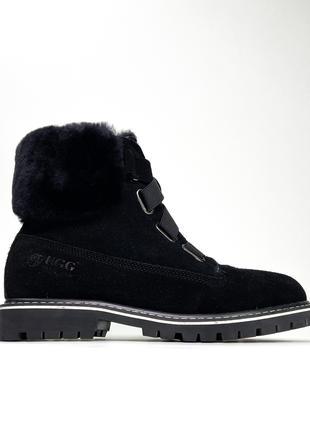 Ugg Boot Fur Black (Черный)