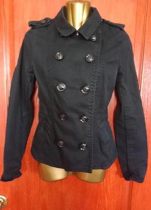 Катоновый черный пиджак