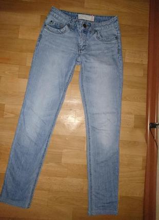 Светло синие женские джинсы s.oliver