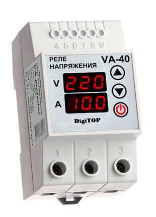 Реле напряжения / тока DigiTOP VA-40A