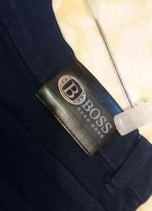 Джинсы темно синие мужские hugo boss